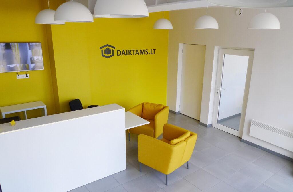 DAIKTAMS.LT biuras Vilniuje - ajaj.lt - architektūra ir interjero dizainas